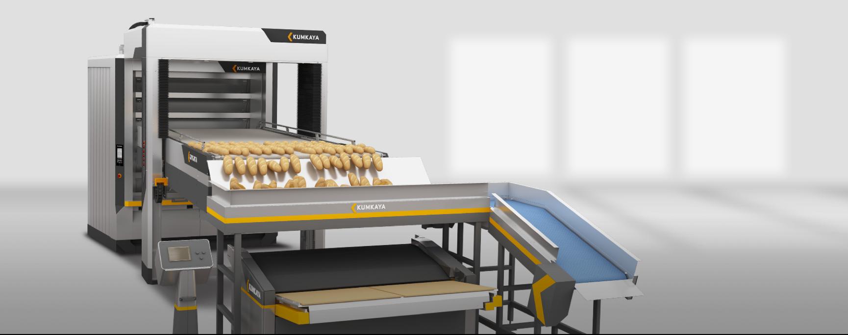 Автоматизирована подова хлібопекарна піч