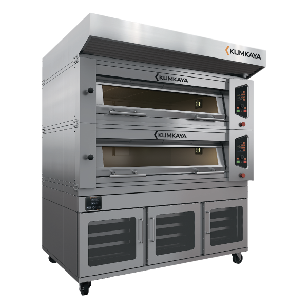 Подовая модульная печь EF12080-2