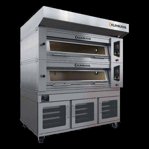 Подовая модульная печь EF12080-1