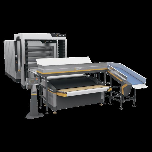 Автоматична подова хлібопекарська лінія OT180-1 (4-ярусна – одинарна, 18 м² площа випічки)
