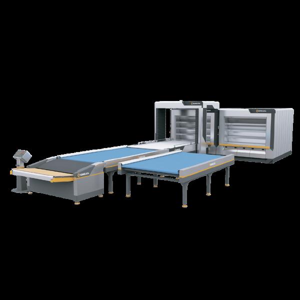 Автоматична подова хлібопекарська лінія OT180-2 (4-ярусна – подвійна, 36 м² площа випічки)