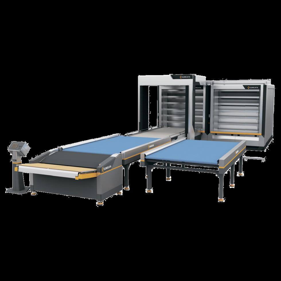 Автоматическая подовая хлебопекарная линия OT270 (6 ярусная - двойная, 54 м² площадь выпечки)