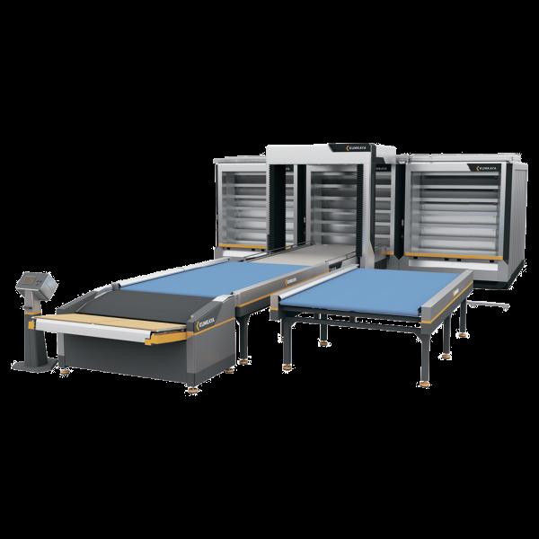 Автоматична подова хлібопекарська лінія OT270 (6 ярусна – потрійна, 81 м²  площа випічки)