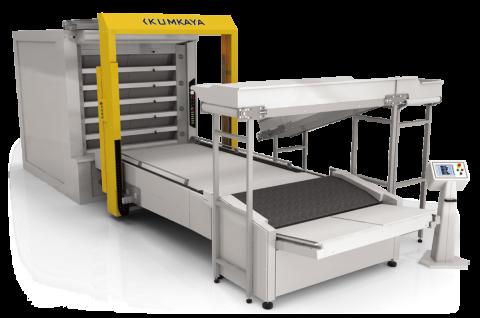 Автоматична подова хлібопекарська лінія OTМ 360-1 (8 ярусна - 1 піч, 36 м² площа випічки)